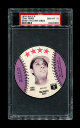 1976 TONY PEREZ ISALY'S SWEET WILLIAM DISCS PSA 10