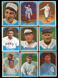 1960 FLEER BASEBALL COMPLETE SET 79/79