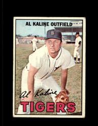 1967 AL KALINE TOPPS #30 TIGERS *R1125