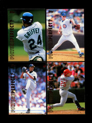 1999 PICTURE PERFECT TOPPS BASEBALL COMPLETE SET 10/10