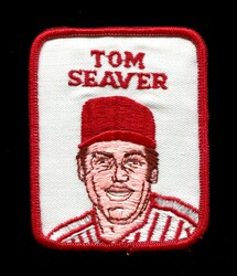 1978 TOM SEAVER PENN EMBLEM VINTAGE PATCH REDS *R2096