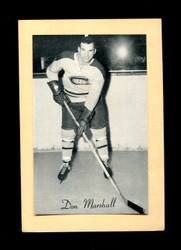 1934/64 DON MARSHALL BEEHIVE CORN SYRUP CANADIENS *138