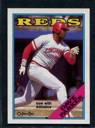 1988 DAVE PARKER OPC #315 BLACK ONLY BACK O PEE CHEE REDS #2829