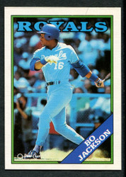 1988 BO JACKSON OPC #8 BLACK ONLY BACK O PEE CHEE ROYALS #2830
