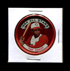 1964 FRANK ROBINSON TOPPS COINS #154 REDS *R1880