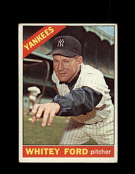 1966 WHITEY FORD TOPPS #160 YANKEES *R1990