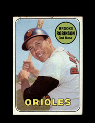 1969 BROOKS ROBINSON TOPPS #550 ORIOLES *R1515