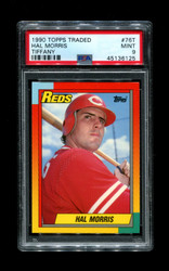 1990 HAL MORRIS TOPPS TRADED #76T TIFFANY PSA 9