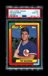 1990 TIM NAEHRING TOPPS TRADED #79T TIFFANY PSA 10