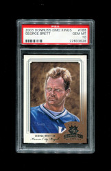 2003 GEORGE BRETT DONRUSS DIAMOND KINGS #166 ROYALS PSA 10