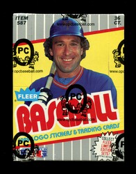 1989 FLEER BASEBALL WAX BOX - FROM A SEALED CASE