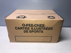 1987 OPC BASEBALL O PEE CHEE FACTORY SEALED VENDING CASE