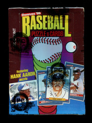 1986 DONRUSS BASEBALL WAX BOX - FROM A SEALED CASE