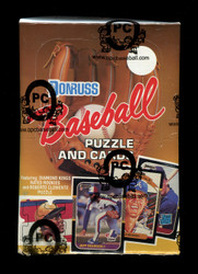 1987 DONRUSS BASEBALL WAX BOX - FROM A SEALED CASE