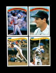 1987 OPC BASEBALL STICKERS U-PICK COMPLETE YOUR SET