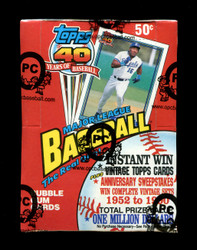 1991 TOPPS BASEBALL WAX BOX - FROM A SEALED CASE