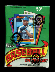 1990 TOPPS BASEBALL WAX BOX - FROM A SEALED CASE