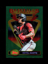 "2020 KETEL MARTE TOPPS FINEST FLASHBACKS ""JUMBO"" DIAMONDBACKS"