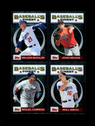 2020  TOPPS FINEST BASEBALL FLASHBACKS U-PICK COMPLETE YOUR SET