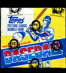 1984 TOPPS BASEBALL CELLO BOX - FROM A SEALED CASE