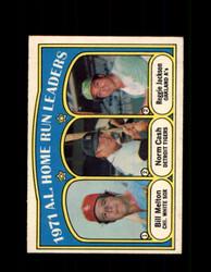 1972 A.L. HOME RUN LEADERS OPC #90 O-PEE-CHEE *4708