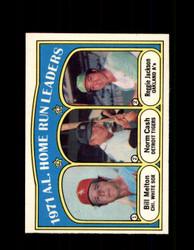1972 A.L. HOME RUN LEADERS OPC #90 O-PEE-CHEE *1006
