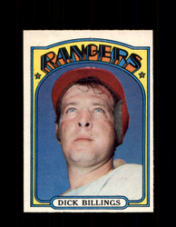 1972 DICK BILLINGS OPC #148 O-PEE-CHEE RANGERS *8437