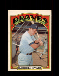 1972 DARRELL EVANS OPC #171 O-PEE-CHEE BRAVES *R2208