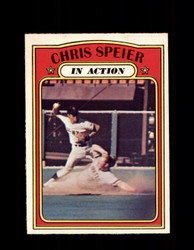 1972 CHRIS SPEIER OPC #166 O-PEE-CHEE IN ACTION *R2150