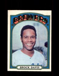 1972 BROCK DAVIS OPC #161 O-PEE-CHEE BREWERS *R2125