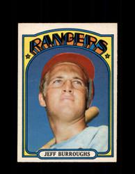 1972 JEFF BURROUGHS OPC #191 O-PEE-CHEE RANGERS *R2170