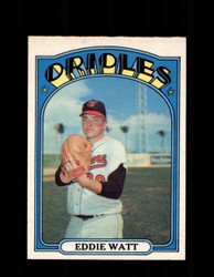 1972 EDDIE WATT OPC #128 O-PEE-CHEE ORIOLES *R1635