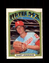 1972 BART JOHNSON OPC #126 O-PEE-CHEE WHITE SOX *R1902