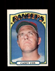 1972 CASEY COX OPC #231 O-PEE-CHEE RANGERS *R1805