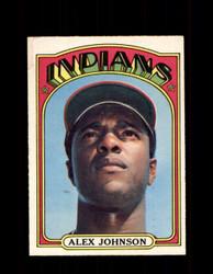 1972 ALEX JOHNSON OPC #215 O-PEE-CHEE INDIANS *R1804