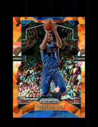 2019 COURTNEY LEE PRIZM #79 CRACKED ORANGE ICE *3939