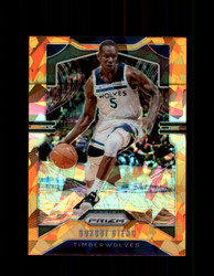 2019 GORGUI DIENG PRIZM #162 CRACKED ORANGE ICE *1112