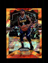 2019 ISAIAH THOMAS PRIZM #208 CRACKED ORANGE ICE *1087