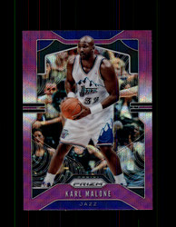2019 KARL MALONE PRIZM #19 PURPLE WAVE *2428