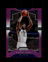 2019 DERRICK FAVORS PRIZM #169 PURPLE WAVE *7986