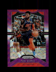 2019 PAUL GEORGE PRIZM #185 PURPLE WAVE *1023