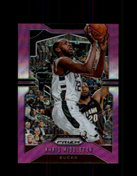 2019 KHRIS MIDDLETON PRIZM #235 PURPLE WAVE *1948