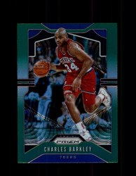 2019 CHARLES BARKLEY PRIZM #2 GREEN 76ERS *8087