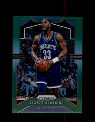 2019 ALONZO MOURNING PRIZM #27 GREEN HORNETS *2772