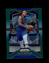 2019 JALEN BRUNSON PRIZM #78 GREEN MAVERICKS *R2073
