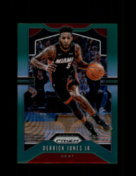 2019 DERRICK JONES JR. PRIZM #150 GREEN HEAT *2782