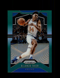 2019 ALLONZO TRIER PRIZM #180 GREEN KNICKS *4289