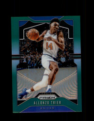 2019 ALLONZO TRIER PRIZM #180 GREEN KNICKS *6990