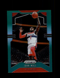 2019 JOHN WALL PRIZM #181 GREEN WIZARDS *8143