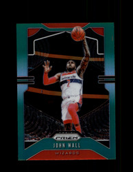 2019 JOHN WALL PRIZM #181 GREEN WIZARDS *4193